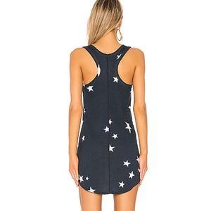 Pam & Gela Dresses - Pam & Gela   NWT Star Print Blue Tank Dress SZ L